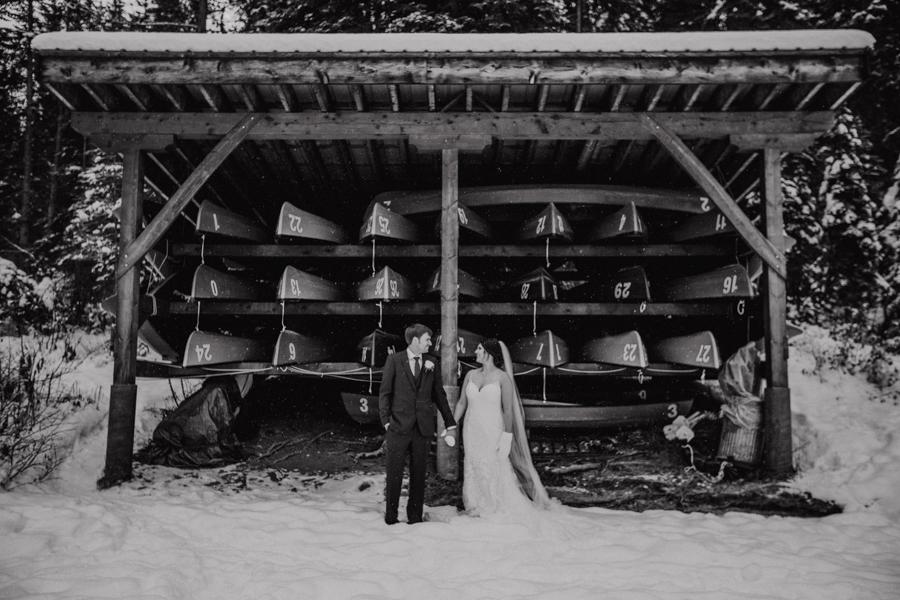 Emerald Lake Wedding - Emerald Lake Lodge wedding - Emerald Lake - weddings at emerald lake canoe