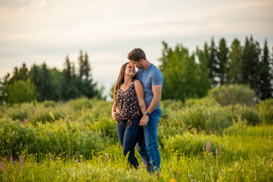 Ranch and rustic country engagement