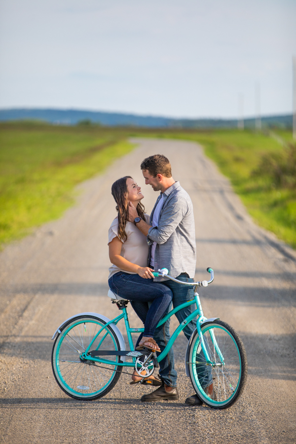 Bike ride for your engagement