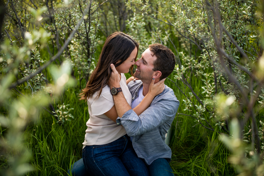 Ranch engagement photos - can I have my hoses in my engagement