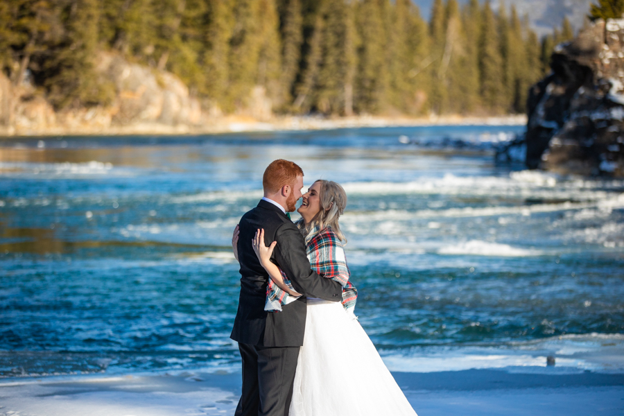 wedding picture locations in Banff