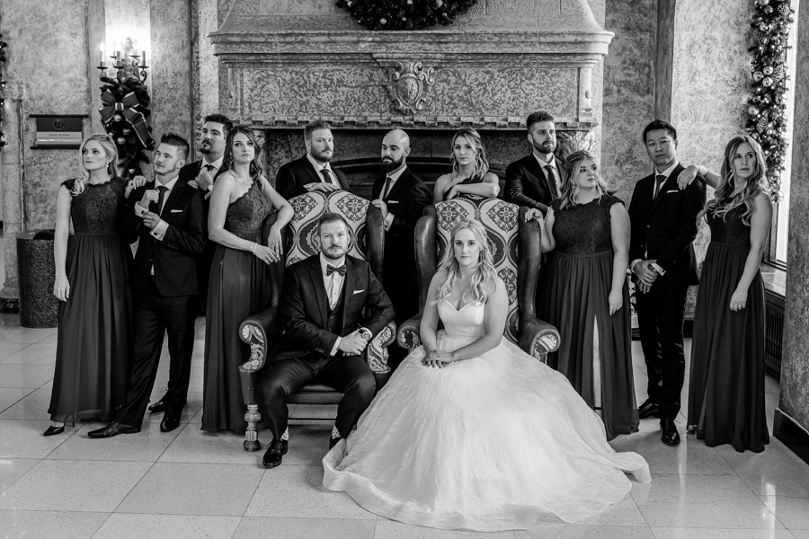 Fairmont Banff Springs wedding pictures
