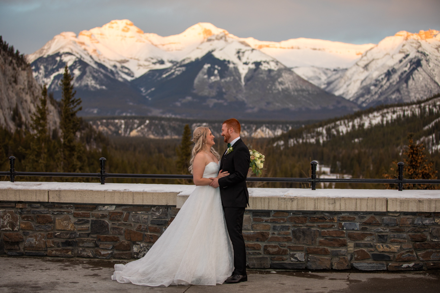 Fairmont Banff Springs wedding pictures Mt. Stephen Room