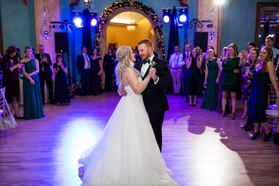 Cascade Ballroom at the Fairmont Banff Springs dancing with Pez Productions