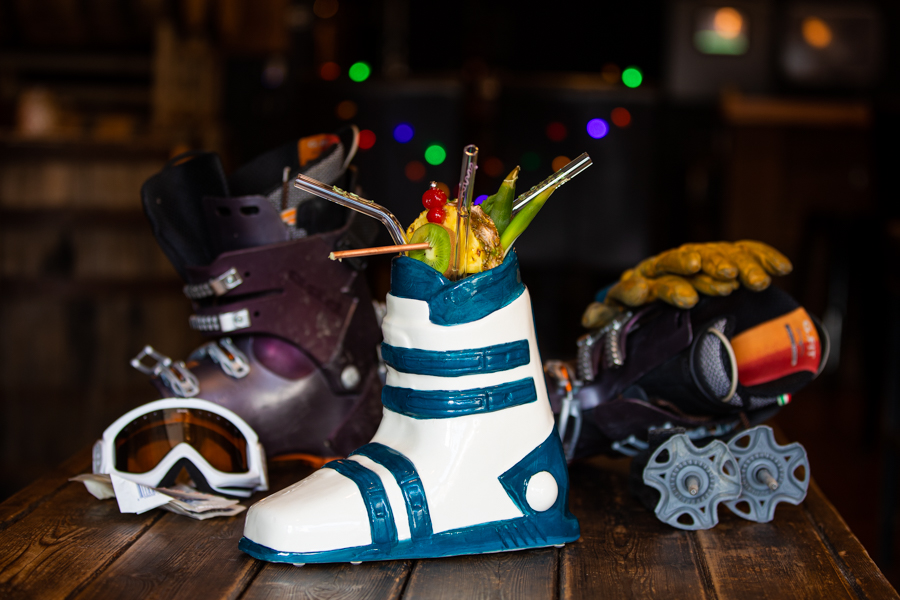 ski boot cocktail calgary cocktail photos
