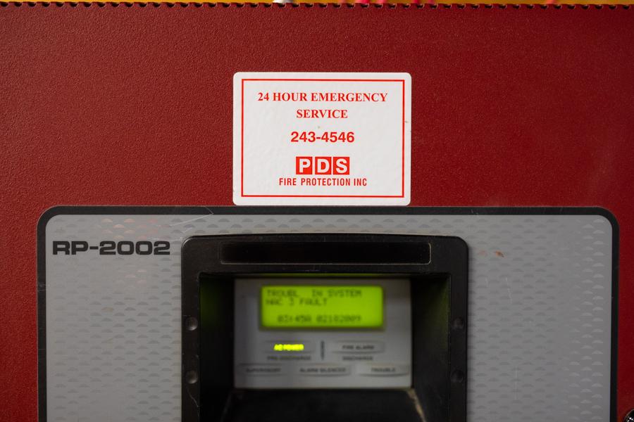 Fire scanner