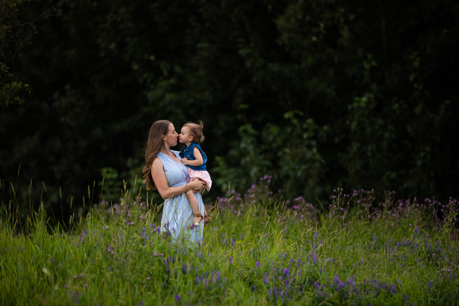 mom and child family photography