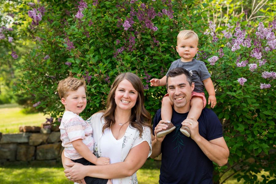 Family photos in Calgary