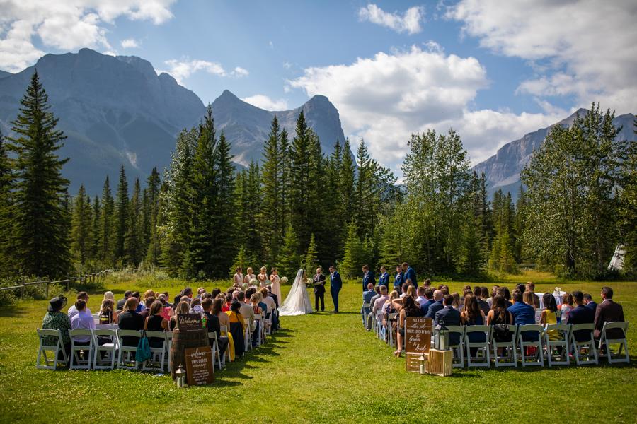 canmore wedding venue - venues in Canmore - Cornerstone Theatre outdoor location
