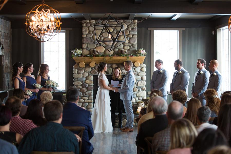 Creekside villa - Canmore wedding venue - Creekside wedding