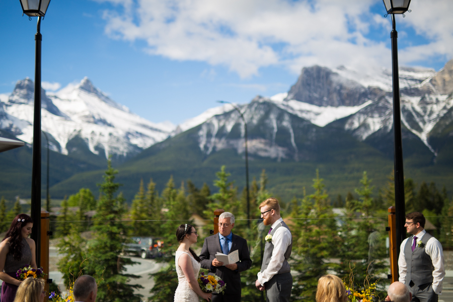 canmore wedding venue - Iron goat pub and grill - Iron goat weddings