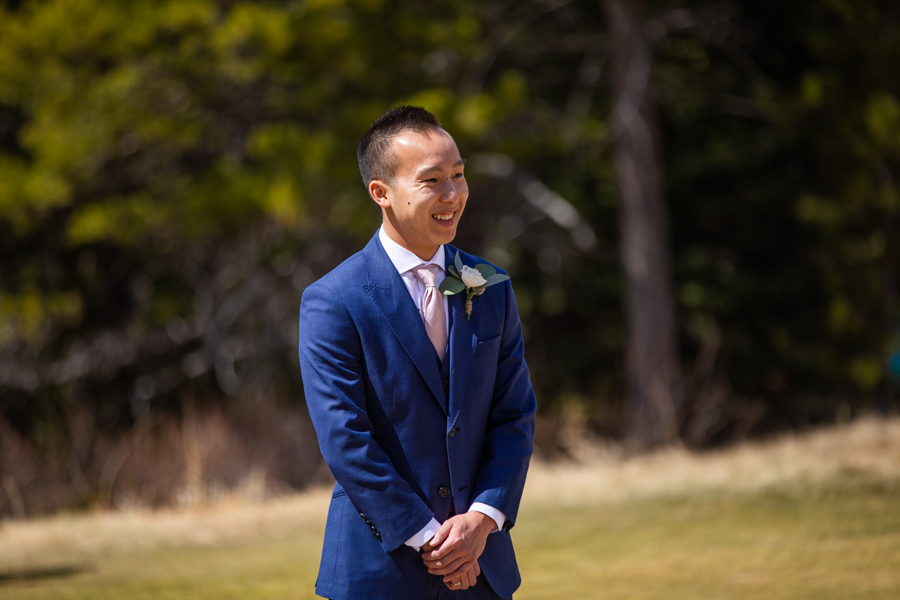 first look at silvertip elopement in canmore
