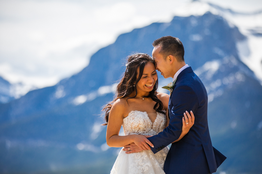 elopement in Canmore Alberta