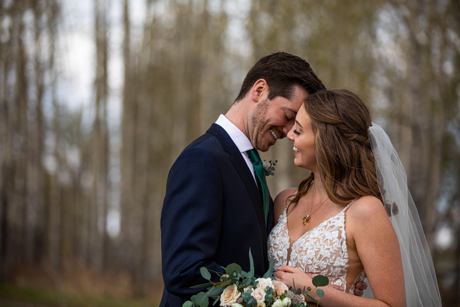 calgary wedding couple
