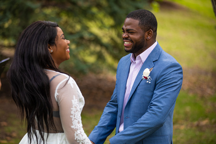 Amazing Black Jamaican couple getting married