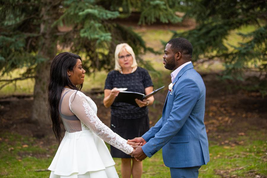 elopement in Lindsay Park Calgary