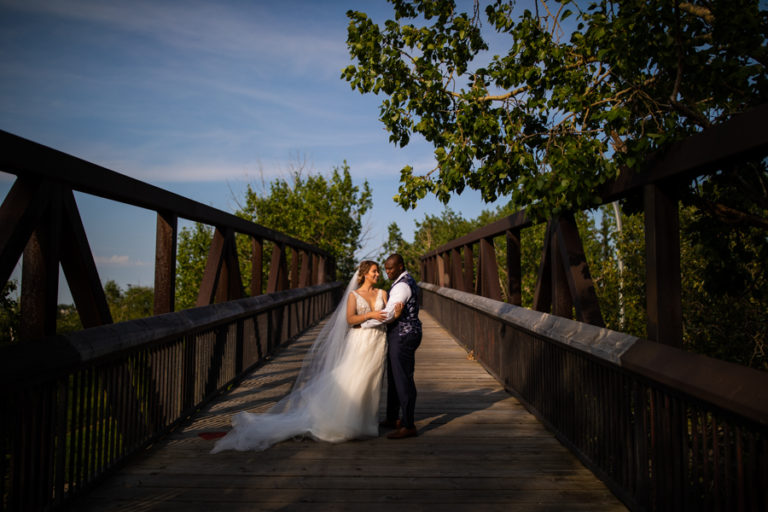 Riverside Golf Course Edmonton wedding photography