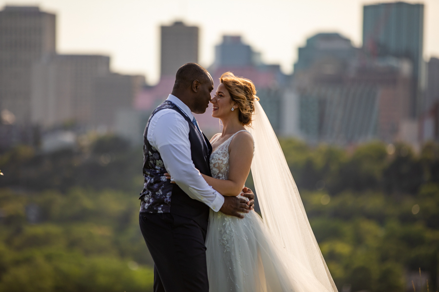 Riverside golf course Edmonton wedding