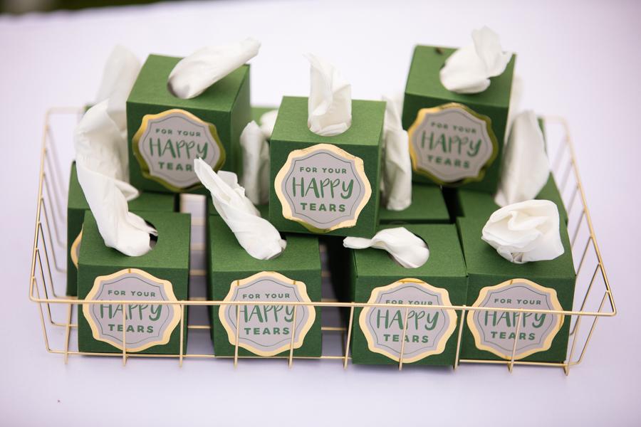 happy tears tissue box