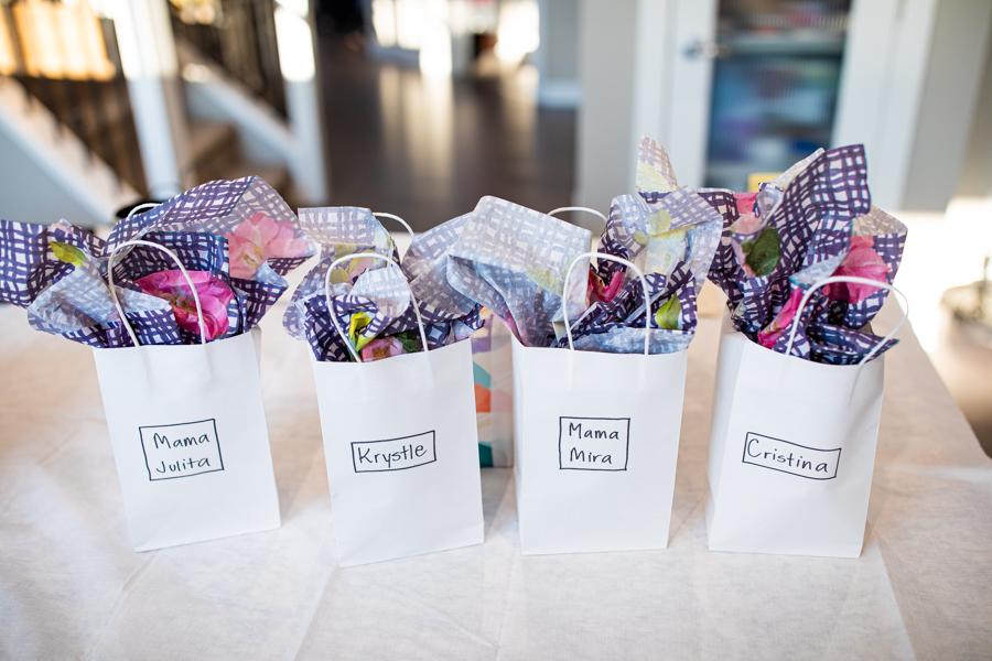 getting ready gifts for bridesmaids