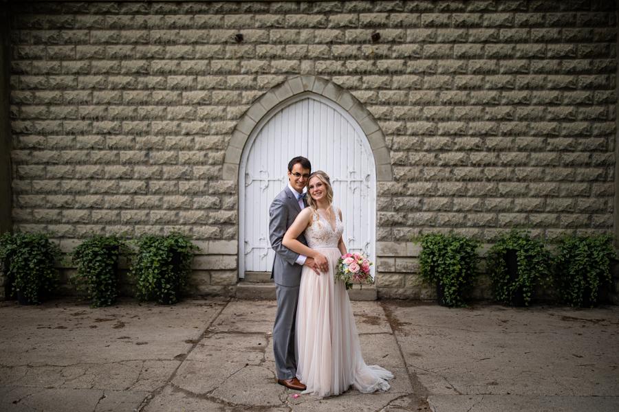 reader rock garden wedding photos