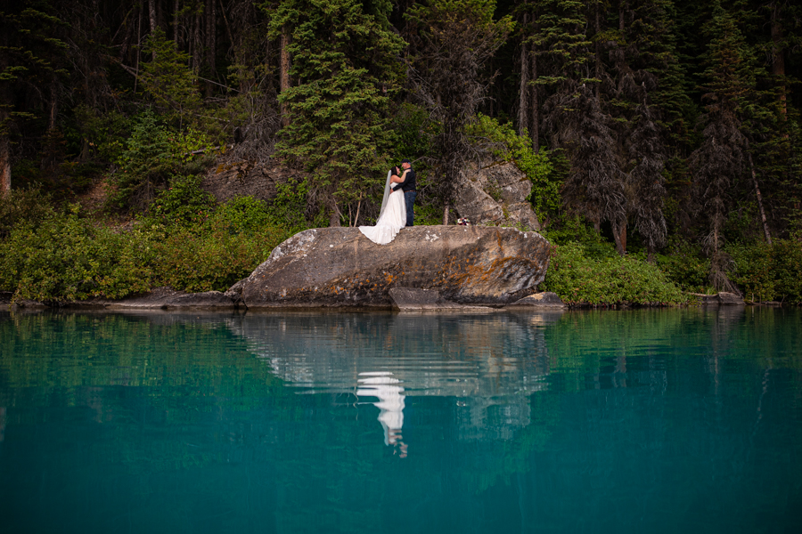 emerald lake elopement