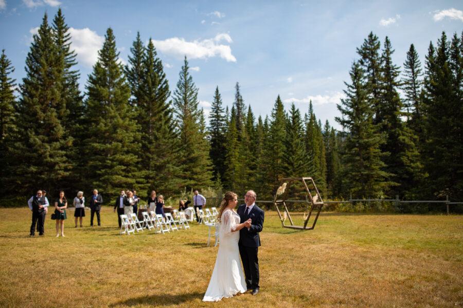 canmore wedding venue