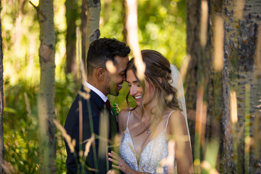 wedding in Bearspaw