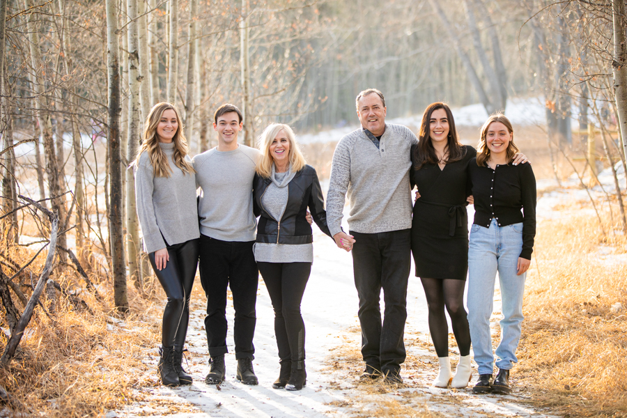 outdoor family photography in fish creek park