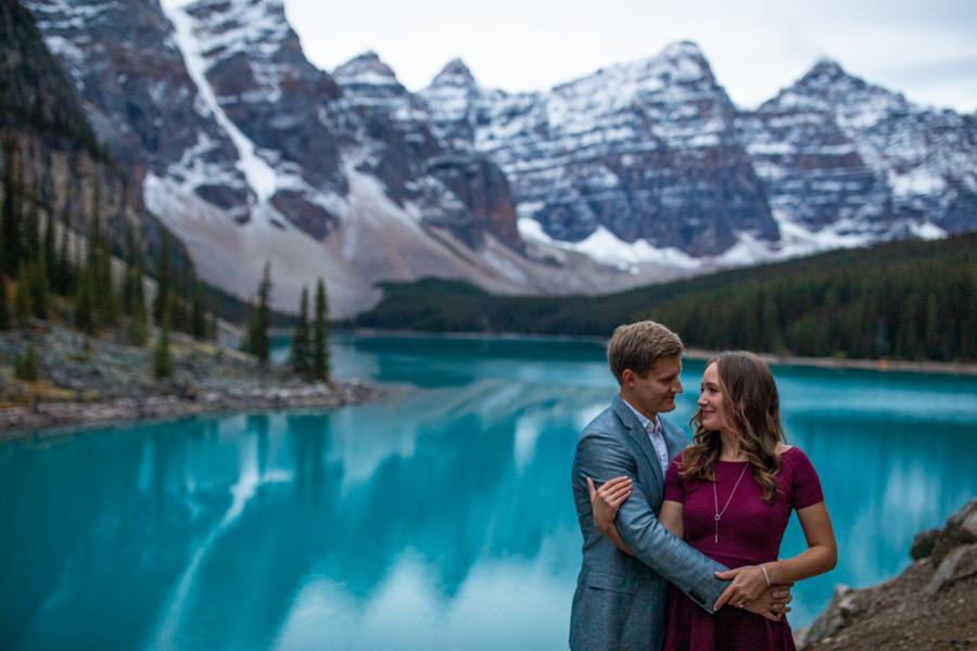 Banff Canada engagement photography