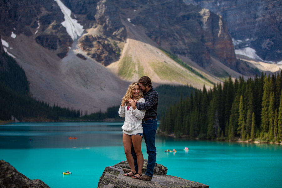 Moraine Lake Engagement Photos
