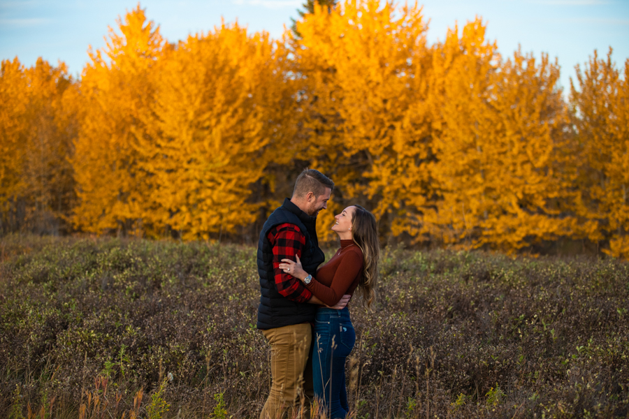 fish creek proposal with a couple, Perfect Proposal Ideas Calgary