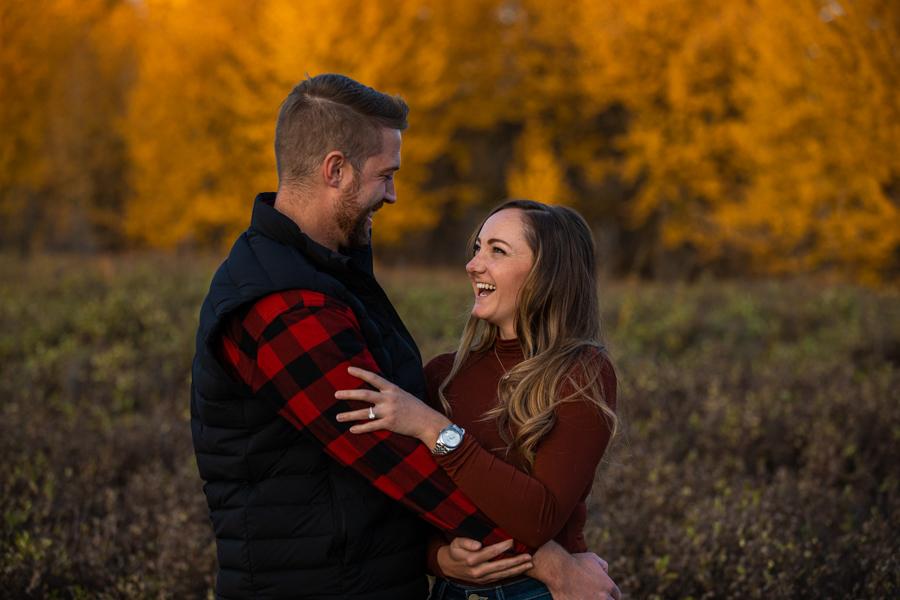 calgary proposal and she said yes