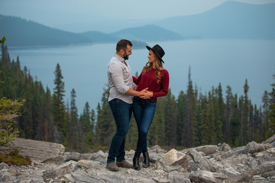 cute couple for engagement photos